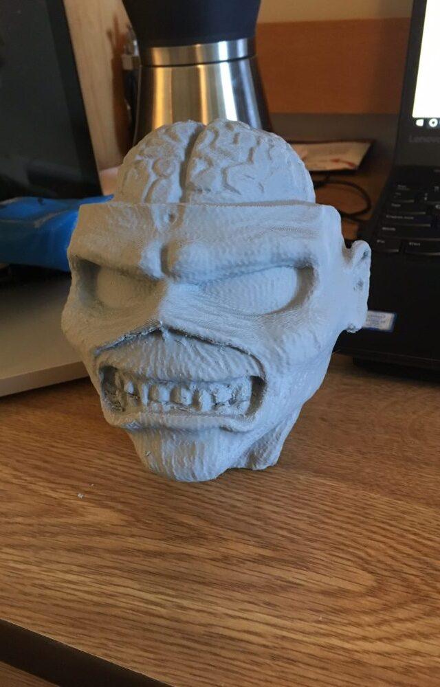 Eddie the Head 3D Print
