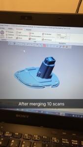 merged scan result