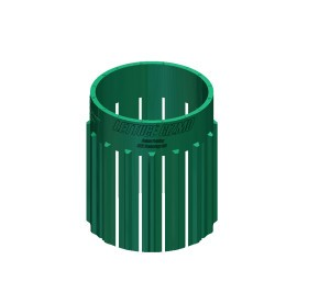 Lettuce Gizmo Injection Molded Part