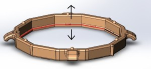 ring for tolicap- injection molding example