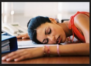 Sleep at work? I suppose that's an option