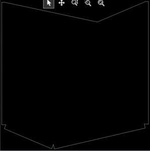 Cut Pattern for Sheet Metal
