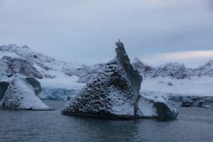 Iceberg left side