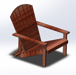 Adirondack Chair (3 piece set)