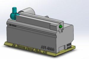 3D CAD of API 4000 Mass Spectrometer