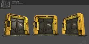 Yellow Door Rendering