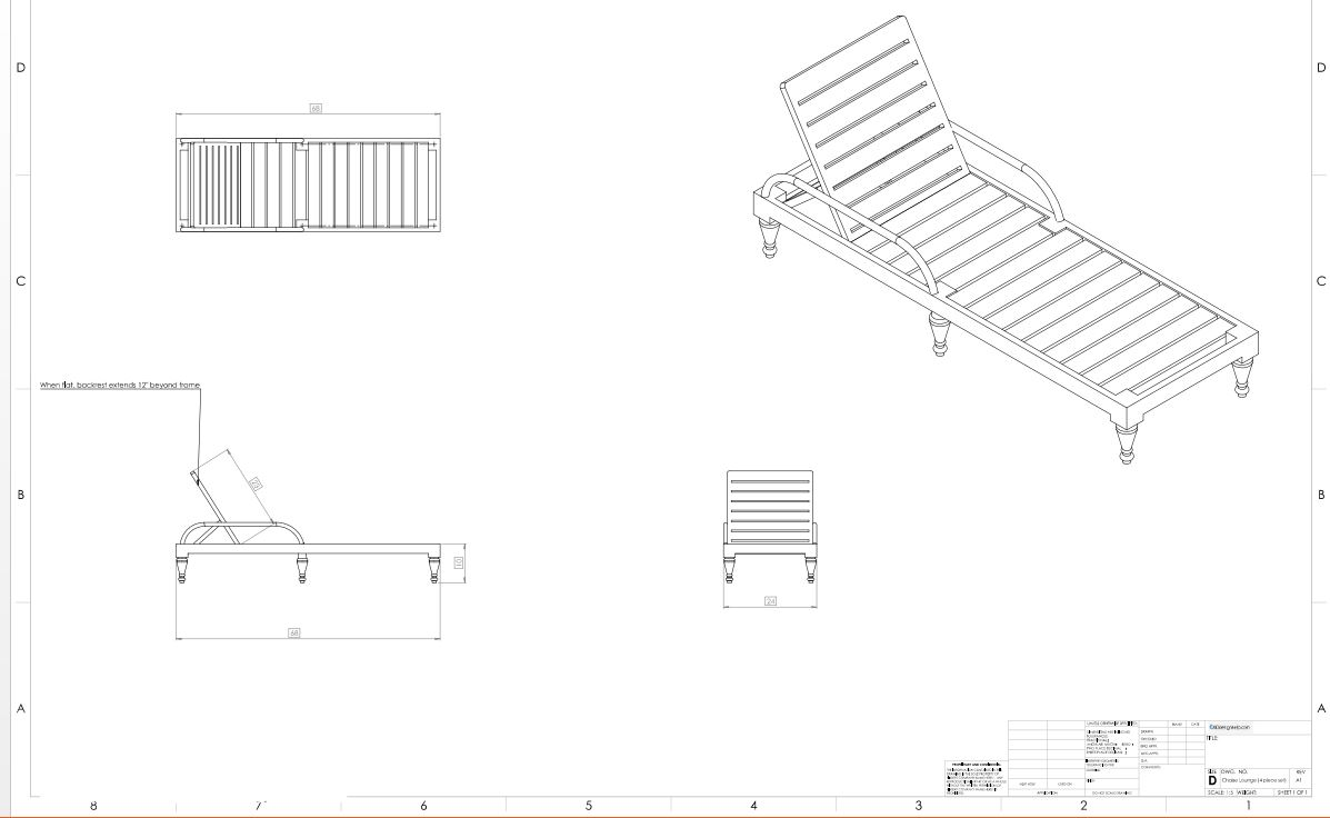Furniture Shop Drawings Caddesignhelp Com
